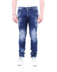 John Richmond Blue jeans 5 bolsillos - Azul