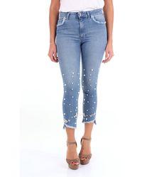 Folies Blugirl Jeans court - Bleu