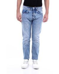 Haikure Pantalones vaqueros delgado - Azul
