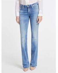 Guess Jeans a palazzo 63%ly 30%co 5%pl 2%ea - Bleu