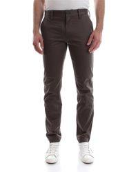 G-Star RAW Pantalone in versione chino, realizzato compact twil con finitura leggermente lucida, l chiusura zip, 97% cotone 3%elastane - Grigio