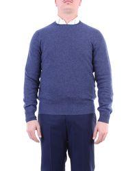 Drumohr Jersey de cuello redondo celeste - Azul