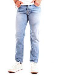 Haikure Tokyo slim crop old blue epoch 4 hem03103df065l0504 jeans fit - Blau