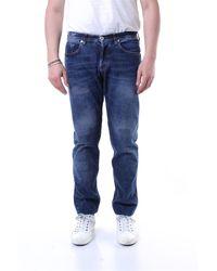 Eleventy Jeans straight - Blu