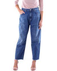Haikure Jeans maman fit - Bleu