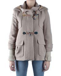 Pinko Prendas de abrigo largo - Marrón