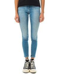Calvin Klein Jeans j 011 mid rise ski j20j213997 - Blu