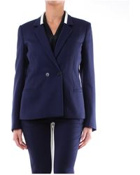 Stella McCartney Blazer bleu marine