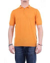 Retois Polo maniche corte - Arancione