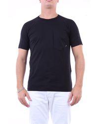 Stone Island T-shirt kurzarm herren - Schwarz