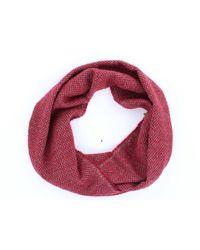 ROSI COLLECTION Sciarpa color bordeaux - Rosso
