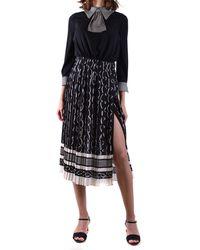 Elisabetta Franchi Vestidos elegante - Negro