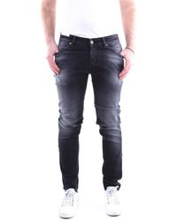 PT Torino Pantalones vaqueros delgado - Negro