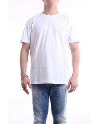 Brunello Cucinelli Brunello cuccinelli t-shirt mit kurzen ärmeln in weiß