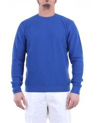 Heritage Jersey con cuello redondo - Azul