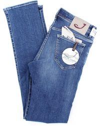 Jacob Cohen Jean modèle 625 bleu