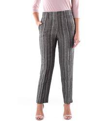 Forte Forte Pantalon chino bicolore - Gris