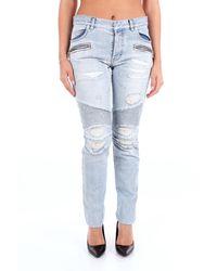 Balmain Trousse jeans - Blau