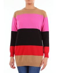 Jucca Pull col rond - Rose