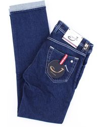 Jacob Cohen Jeans modello 622 limited blu scuro