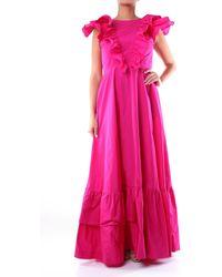P.A.R.O.S.H. Kleider lang - Pink