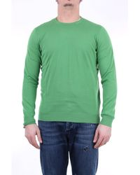 Drumohr Jersey de cuello redondo - Verde