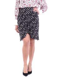 Isabel Marant Minijupe noire à motif floral