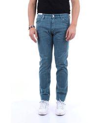 PT Torino Jeans regular color - Blu
