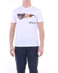 Versace Camiseta manga corta - Blanco