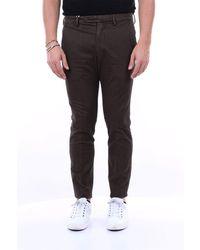 Michael Coal Pantalon capri stretch avec poche amérique slim fit - Noir