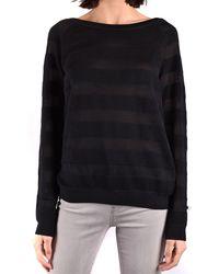Armani Jeans Prendas de punto gargantilla - Negro