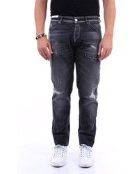 PT Torino Jean regular de couleur gris foncé