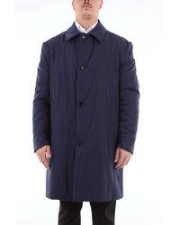 Marni Manteau long imperméable en tissu technique - Bleu