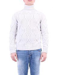 Paolo Pecora Jersey de cuello alto color - Blanco