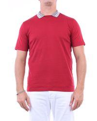 Eleventy Prendas de punto cuello redondo - Rojo