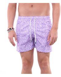 Fedeli Traje de baño pantalones cortos mar - Morado
