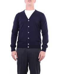 Gran Sasso Cardigan di colore - Blu