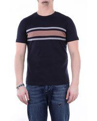 Eleventy Camiseta de manga corta en - Azul