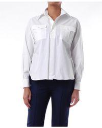Plan C Camisas blusas - Blanco