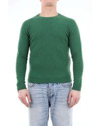 Altea Pull couleur unie en laine vierge - Vert