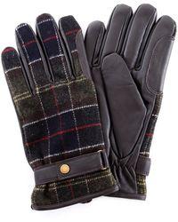 Barbour Trousse handschuhe herren - Grün