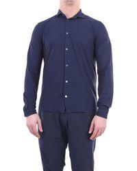 Zanone Shirts général - Bleu