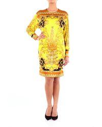 Versace Robe courte - Jaune