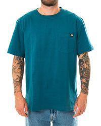 Dickies T-shirt porterdale coral blue dk0a4tmocbl - Blau