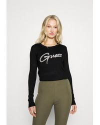 Guess T-shirt maglie - Nero