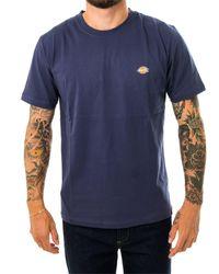 Dickies T-shirt stockdale regular dk621578nv0 - Blu