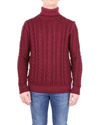 Jeordie's Männer Sweater - Rot
