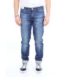 Pt05 Jeans scuro casual super slim fit Jeans Slim - Blu