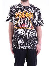DSquared² Camiseta con estampado frontal - Negro