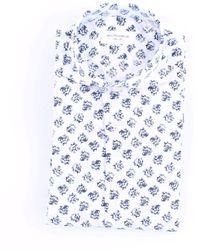 MASTRICAMICIAI Masticado mi camisa blanca y azul
